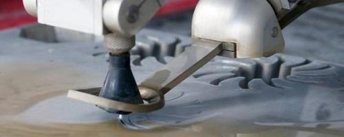 Гидроабразивная резка мрамора