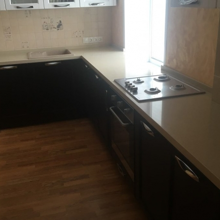 Столешница для кухни из кварцевого агломерата Avant 1102 шампань